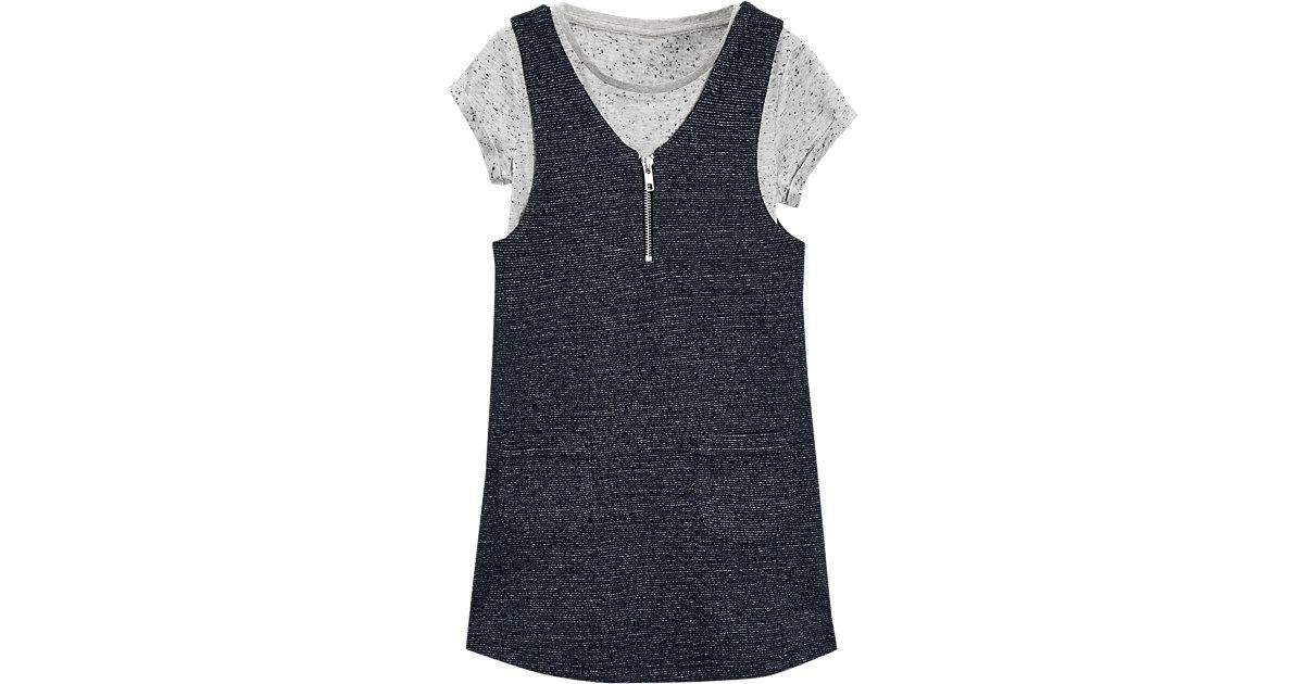 Set Kleid + T-Shirt Gr. 122 Mädchen Kinder
