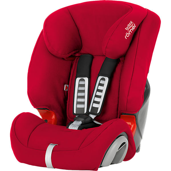Auto-Kindersitz EVOLVA 1-2-3, Flame Red, 2016