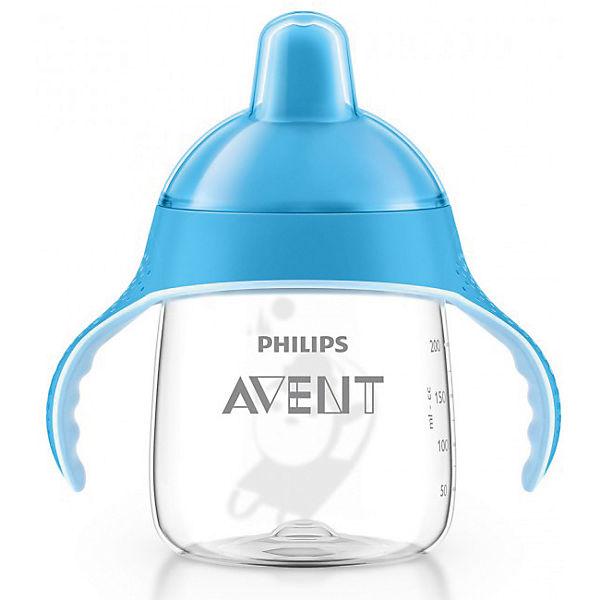 Чашка-поильник, 260 мл, 12 мес+, Philips Avent, голубой
