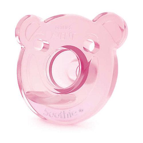 Соска-пустышка с щитком 0-3 мес, 2шт., Philips Avent, розовый/фиолетовый от PHILIPS AVENT