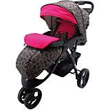 Прогулочная коляска BabyHit Voyage, BIRDS, розовый