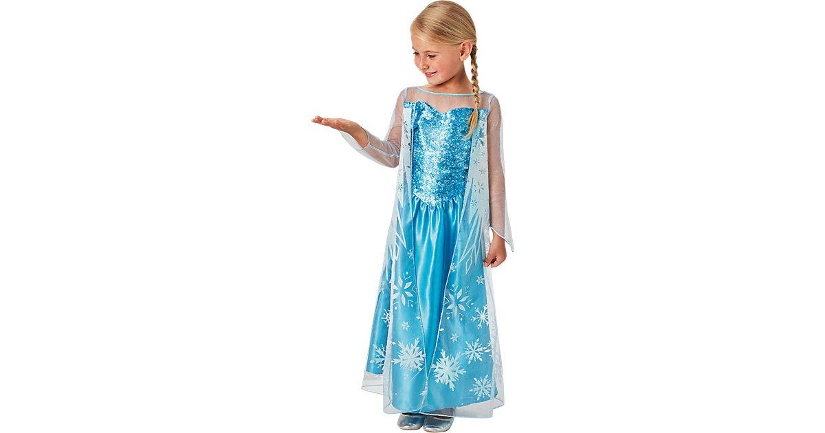 Kostüm Die Eiskönigin Elsa Classic hellblau Gr. 122/128 Mädchen Kinder