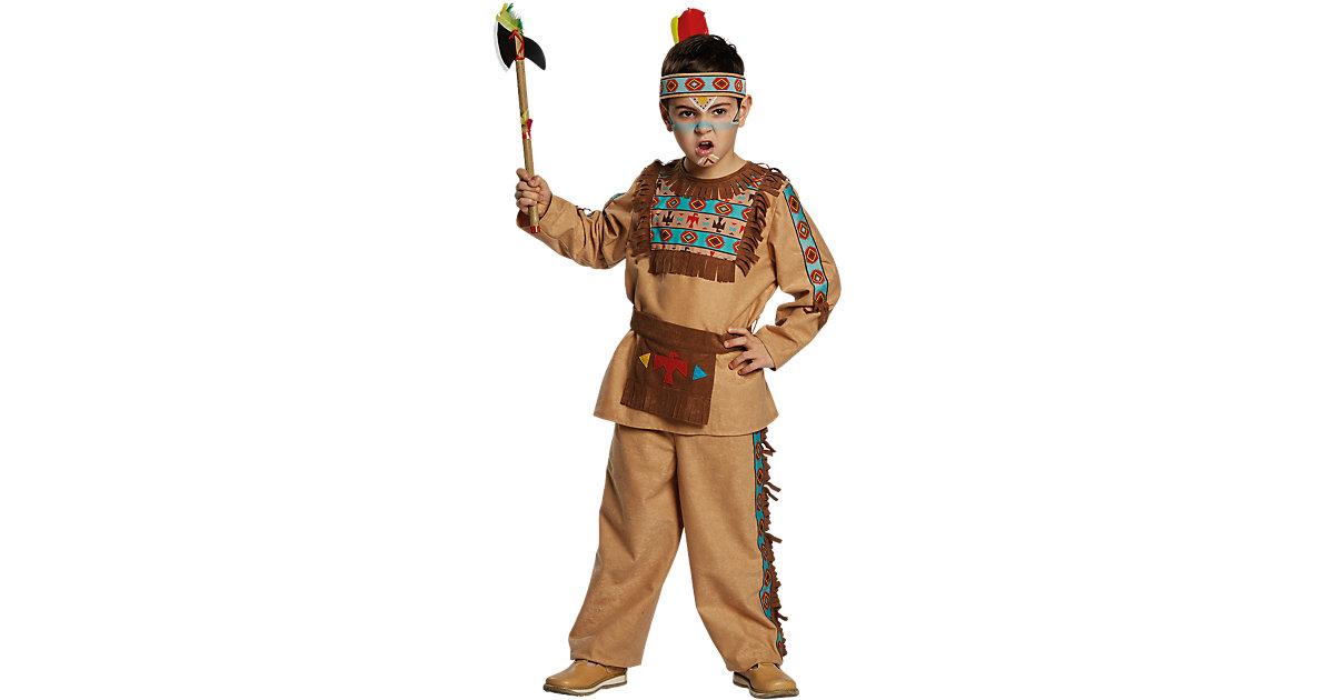 Kostüm Indianer, 3-tlg. Gr. 104 Jungen Kleinkinder