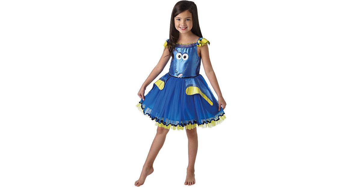 Kostüm Dorie Deluxe Tutu blau Gr. 104 Mädchen Kleinkinder
