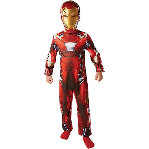 Rubie´s Kostüm Iron Man Civil War Classic, 2-tlg. Gr. 128/140