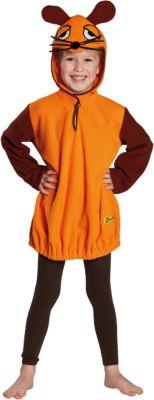 Kostüm Die Maus orange Gr. 104