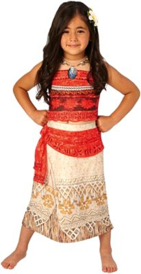 Kostüm Vaiana Deluxe, 2-tlg. rot/braun Gr. 122/128 Mädchen Kinder