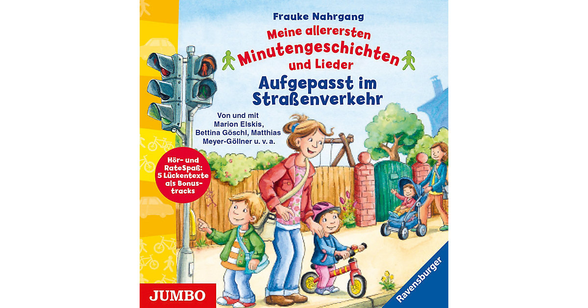 Aufgepasst im Straßenverkehr, 1 Audio-CD Hörbuch