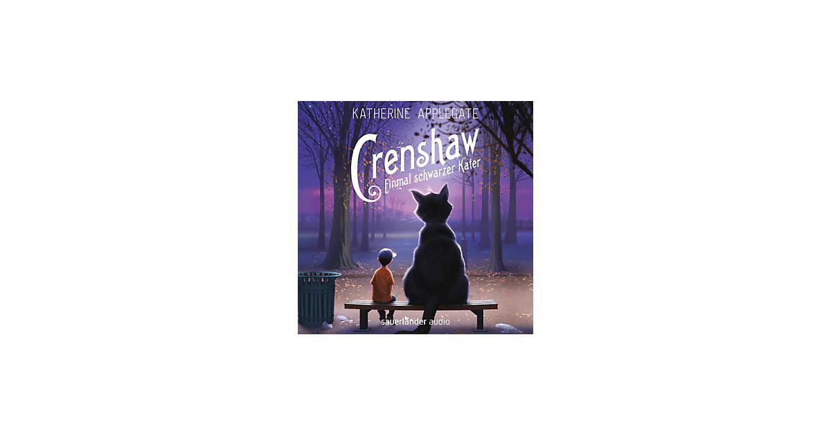 Crenshaw: Einmal schwarzer Kater, 2 Audio-CDs