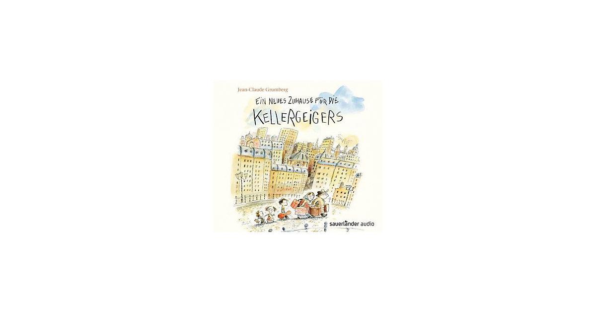 Ein neues Zuhause die Kellergeigers, 1 Audio-CD...