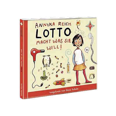 Lotto macht, was sie will, 1 Audio-CD