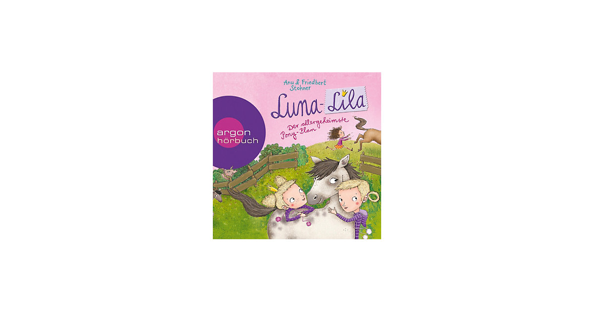 Luna-Lila: Der allergeheimste Pony-Plan, 2 Audi...