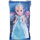 """Кукла """"Золушка со светящимся амулетом"""", 25см, со звуком, Принцессы Дисней, Карапуз"""