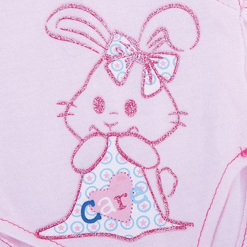 """Одежда для кукол """"Розовое боди в наборе с шапочкой"""" от Shantou Gepai"""