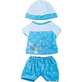 """Одежда для кукол """"Пижама в наборе с шапочкой"""""""