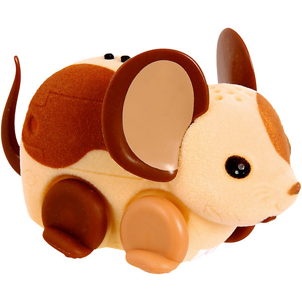 Интерактивная мышка Little Live Pets, бежево-коричневая, Moose