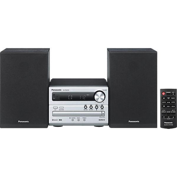 Panasonic SC-PM250EG-S Microanlage, Blautooth, RDS, 1x USB, Panasonic