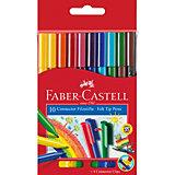 Фломастеры Faber-Castell Connector, 10 цветов