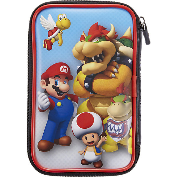 nintendo 3ds xl tasche mario bowser super mario mytoys. Black Bedroom Furniture Sets. Home Design Ideas