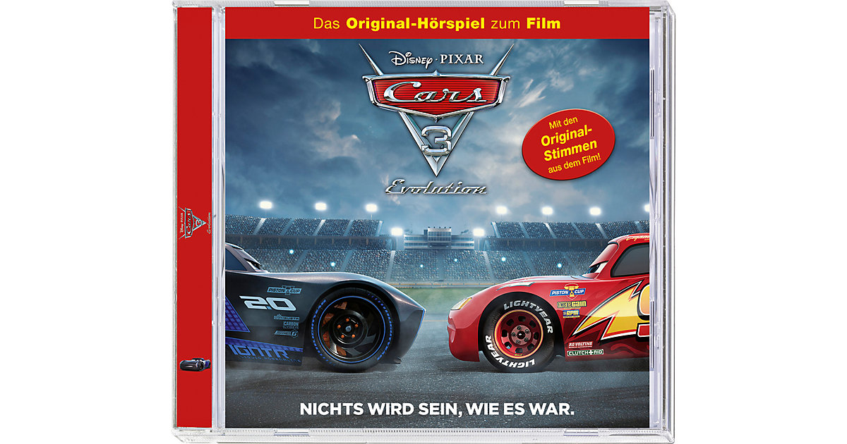 CD Cars 3 Hörspiel zum Film Hörbuch
