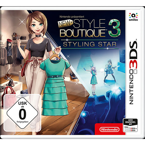 3DS New Style Boutique 3 – Styling Star
