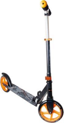 Aluminium Scooter Muuwmi 200, schwarz/orange orange/schwarz