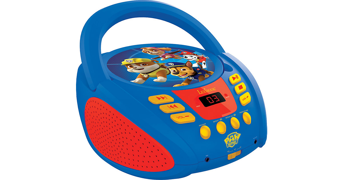 Paw Patrol Radio CD Player