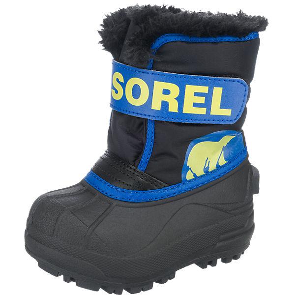 Sonderrabatt von Vorschau von Modestil von 2019 Kinder Winterstiefel SNOW COMMANDER, SOREL