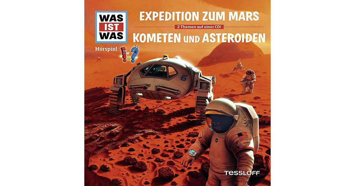 CD Was Ist Was-Folge 58: Expedition Z.Mars/Kome...