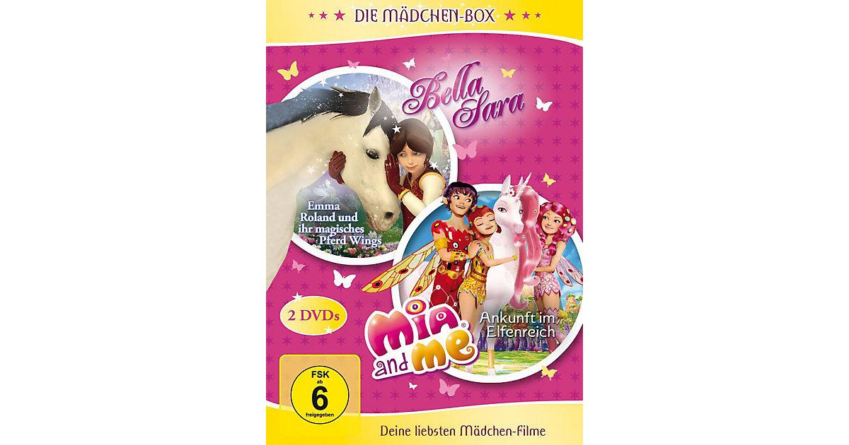 DVD Die Mädchen-Box - Bella Sara und Mia and Me Hörbuch