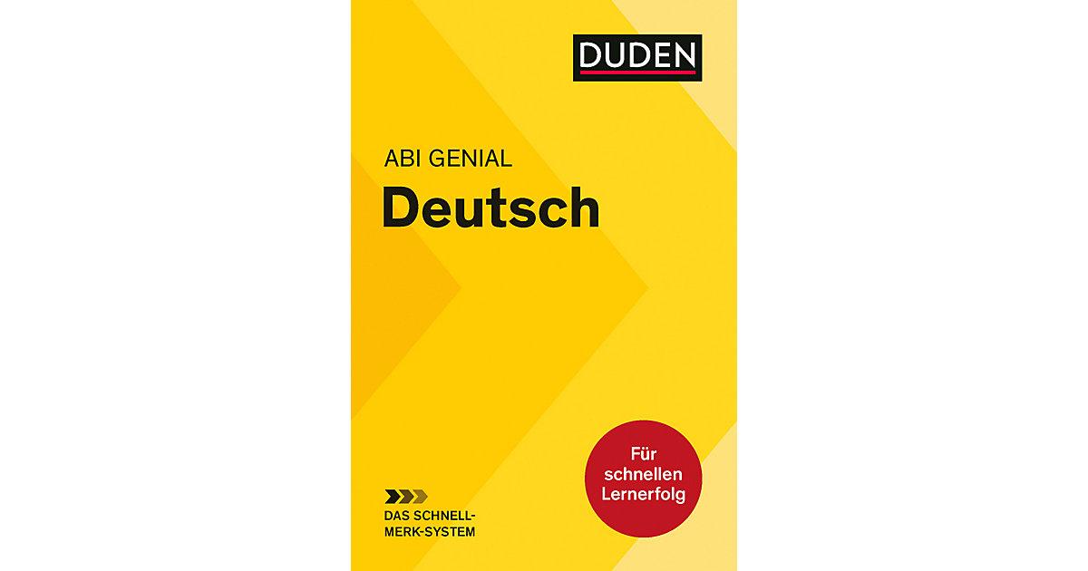 Duden Abi genial Deutsch