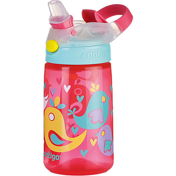 Trinkflasche Gizmo Flip Cherry blossom love birds, 420 ml