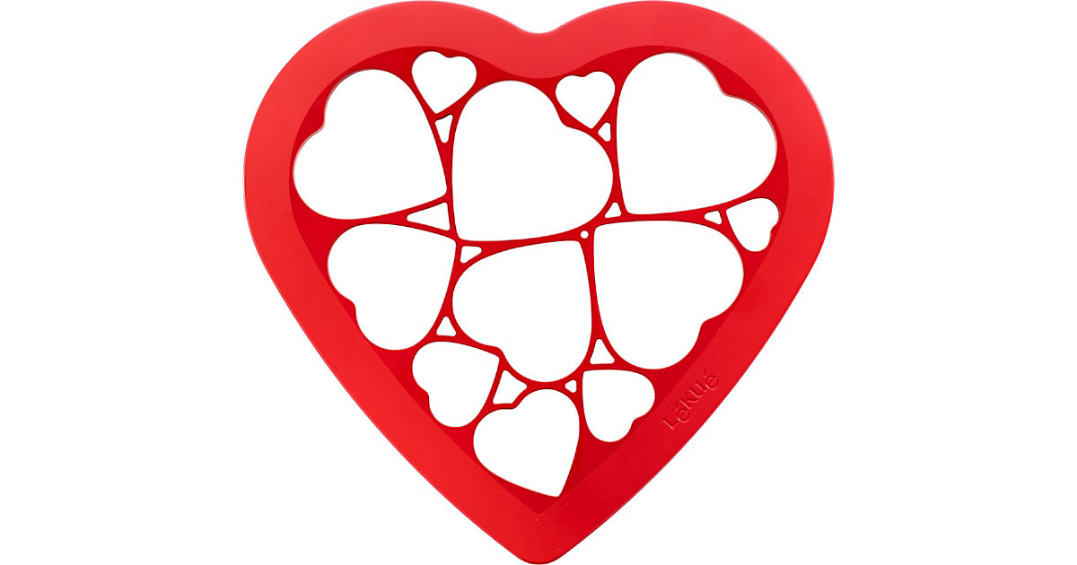 Ausstecher Cookie Puzzle Hearts