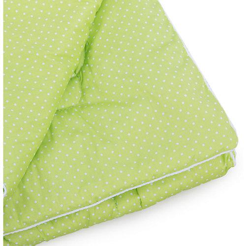 Одеяло в кроватку 110х140, Горошек, Soni kids, салатовый от Soni Kids