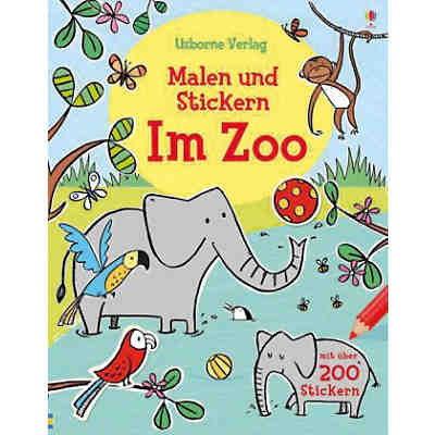 WAS IST WAS Kindergarten: Malen, Rätseln, Stickern - Im ...