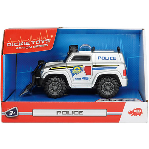 Полицейская машина Dickie Toys со светом и звуком от Dickie Toys