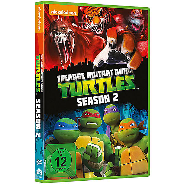 DVD Teenage Mutant Ninja Turtles - Season 2 - Repack