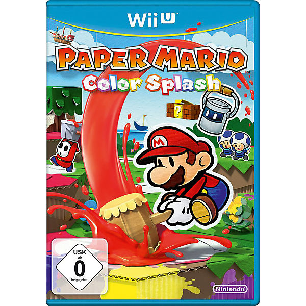 Wii U Paper Mario: Color Splash