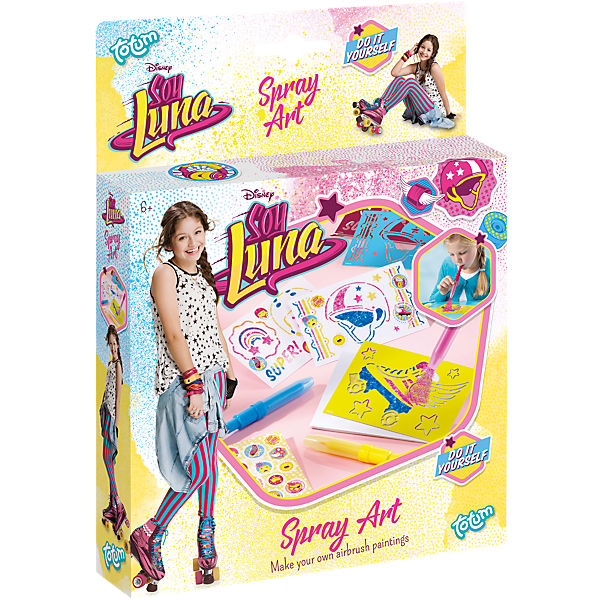 Soy Luna Spray Art Pustestifte