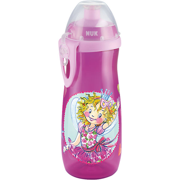 Trinkflasche Sports Cup, PP, 450 ml, Push-Pull-Tülle, Prinzessin Lillifee