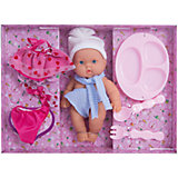 Игровой набор с куклой 1Toy Пупс с аксссуарами, 18 см