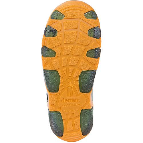 Резиновые сапоги со съемным носком Demar - зеленый от Demar