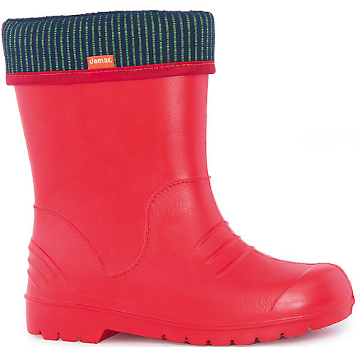 Резиновые сапоги со съемным носком Demar Dino - красный от Demar
