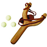 Рогатка с 3-мя шариками
