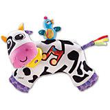 Мягкая игрушка Музыкальная Коровка, звук-мелодия, Lamaze