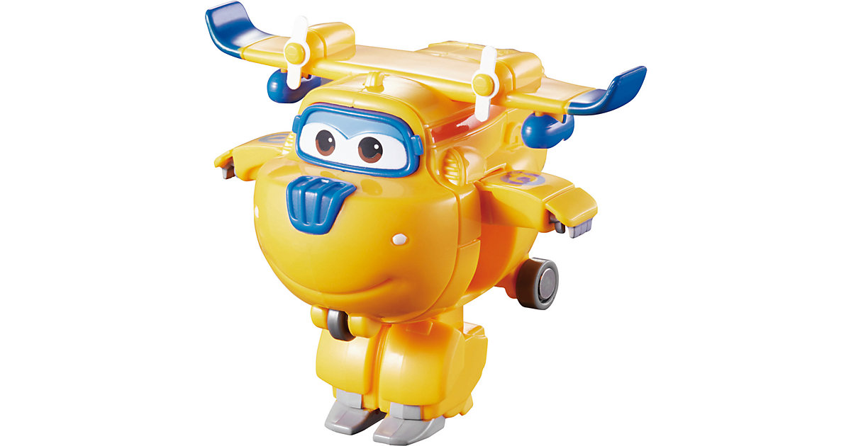 Super Wings Mini Transform-Flugzeug Donnie gelb