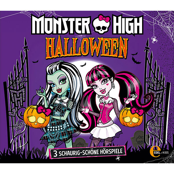 CD Monster High - Halloween-Box