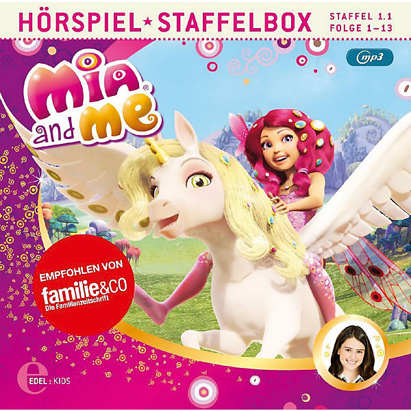 CD Mia and Me - Staffelbox (Staffel 1.1,Folge 1-13)