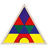 "Деревянные кубики Mapacha ""Пирамида"""