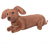 """Мягкая игрушка Hansa """"Собаки"""" Щенок таксы, 40 см"""